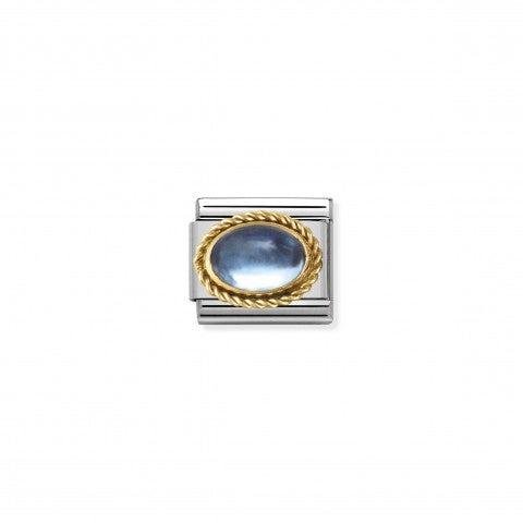Link_Composable_Classic_Pietra_Natale_Novembre_Link_in_Oro_750_e_Pietra_semipreziosa_azzurra