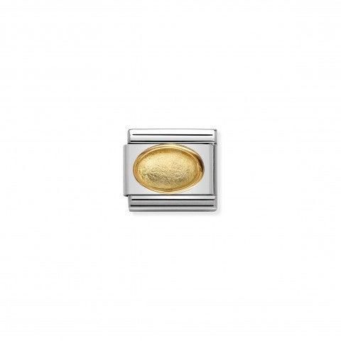 Link_Composable_Classic_Cristallo_dorato_Link_in_acciaio,_oro_e_pietra_naturale