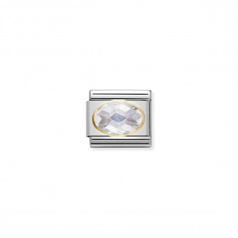 Link_Composable_Classic_argento_con_Pietra_bianca_Link_in_Oro_750_e_Cubic_Zirconia
