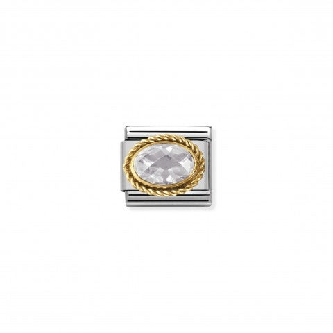 Link_Composable_Classic_Pietra_bianca_ovale_in_Oro_Link_in_Oro_750_con_Cubic_Zirconia_bianco_sfaccettato