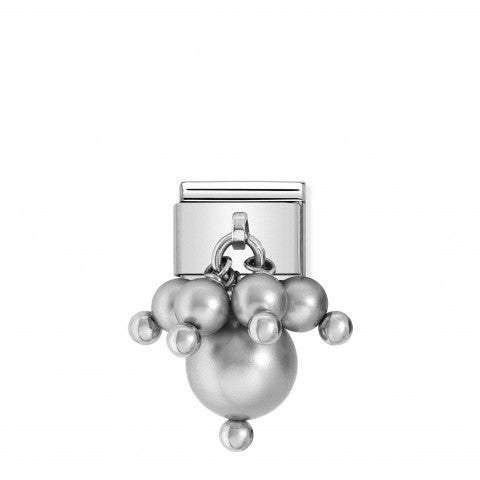 Composable_Classic_Link_grey_Swarovski_Pearls_Stainless_Steel_Link_and_round_stones