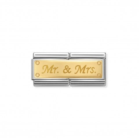 Link_Doble_Composable_Classic_Mr_y_Mrs_Link_con_escrita_Mr_&_Mrs_grabada_en_Oro_750