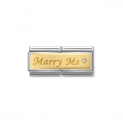Double_Link_Composable_Classic_Marry_Me_Link_en_Or_750_avec_inscription_gravée_et_Swarovski
