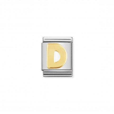 Link_Composable_Big_Lettera_D_in_Oro_Lettera_alfabetica_Big_in_Acciaio_e_Oro_750