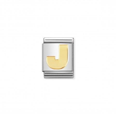 Link_Composable_Big_Lettera_J_in_Oro_Lettera_J_alfabeto_in_Acciaio_e_Oro_750