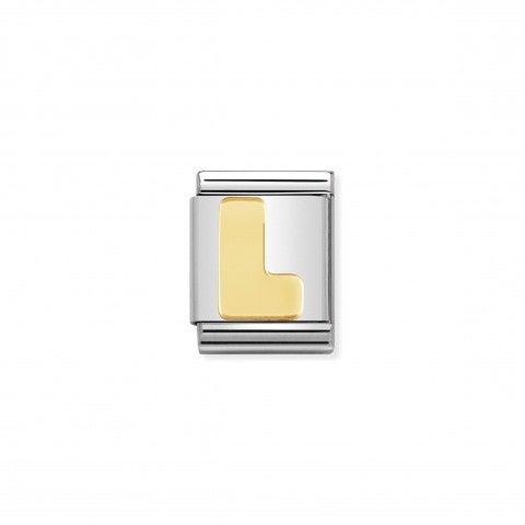 Link_Composable_Big_Lettera_L_in_Oro_Link_Big_con_lettera_L_in_Acciaio_e_Oro_750