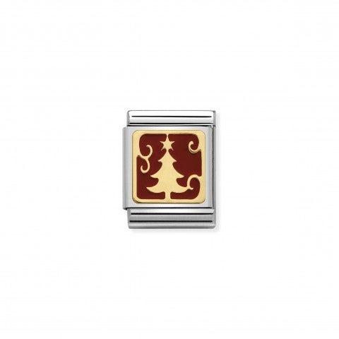 Link_Composable_Big_Albero_in_Smalto_Link_con_albero_Natale_in_Oro_750_e_Smalto