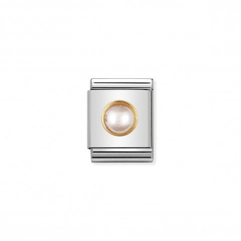 Composable_Big_Link_with_round_and_pink_pearl_Link_in_18K_gold_with_round_hard_stone