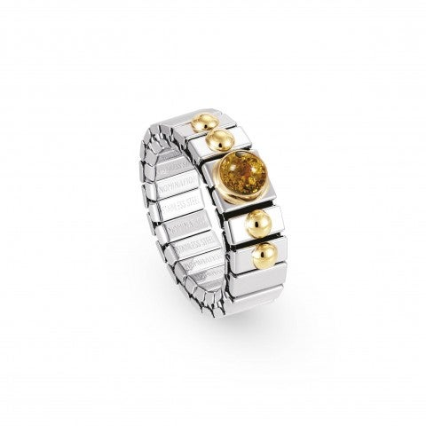 Stretch_Ring_withNatural_HardStones_Stainless_Steel_and_18K_gold_ring_with_stones