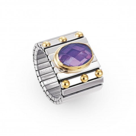 Stretch_Ring_enriched_with_faceted_Cubic_Zirconia_Stainless_steel_ring_with_coloured_Cubic_Zirconia