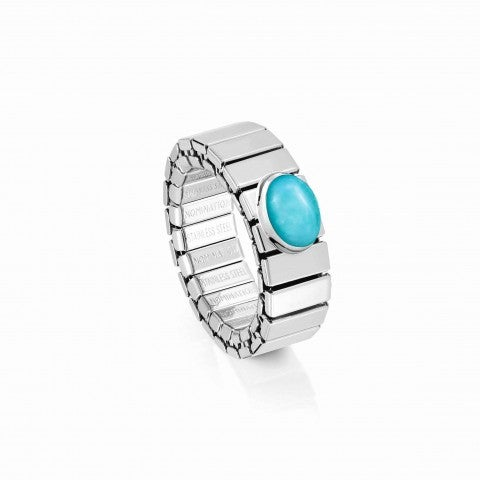 Extension_ring,_Steel_with_Turquoise_Online_Exclusive,_Ring_with_Precious_stone