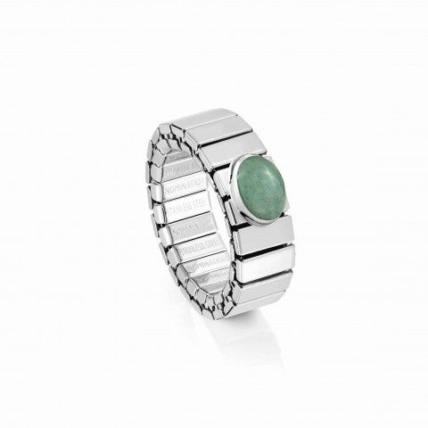 Extension_ring,_Steel_with_Green_Avventurina_Online_Exclusive,_Ring_with_Precious_stone
