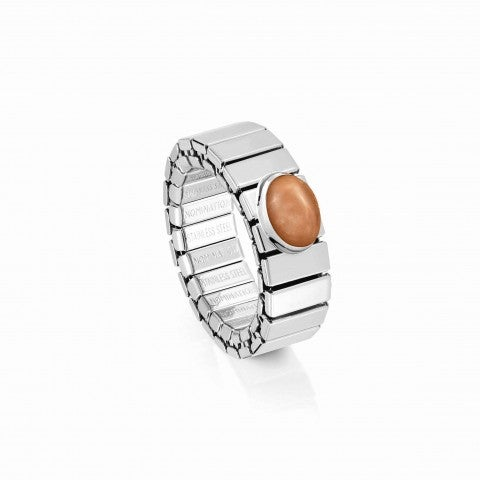 Extension_ring,_Steel_with_Pink_Avventurina_Online_Exclusive,_Ring_with_Precious_stone