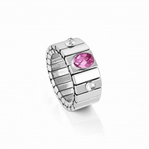 Extension_ring,_Steel_with_Cubic_Zirconia_Online_Exclusive,_Ring_with_coloured,_faceted_stones