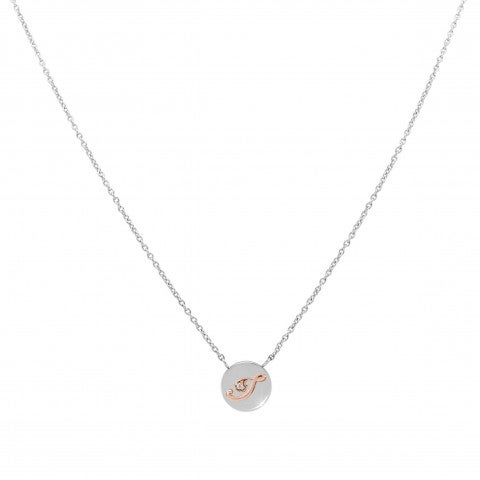 MyBonBons_Necklace_with_Letter_I_in_Rose_Gold_and_Stone_Necklace_in_Steel_with_letter_Pendant_in_Rose_Gold_375