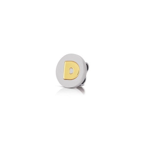 Charm_MyBonBons_with_Letter_D_in_Gold_Charm_MyBonBons_in_stainless_steel_with_disk_in_18K_gold