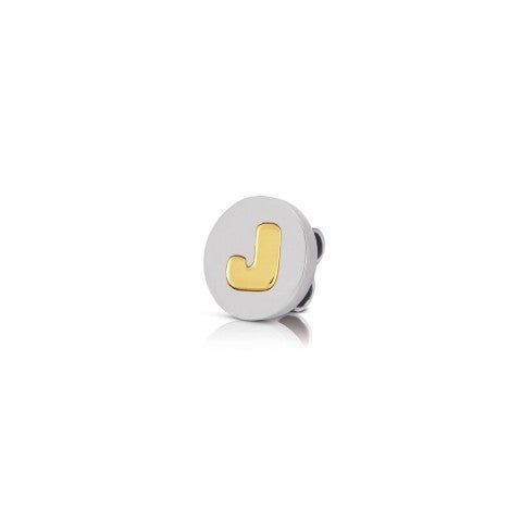 Charm_MyBonBons_with_Letter_J_in_Gold_Charm_MyBonBons_in_stainless_steel_with_Alphabet