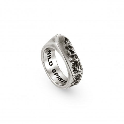 "Freedom_Ring_in_Brass_with_Inscription_Inside_Ring_in_brass_with_""Wild_Spirit""_writing"
