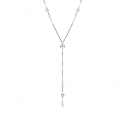 Short_necklace_pendant_Swarovski_Pearls_Necklace_in_sterling_silver,_Cubic_Zirconia_and_pearls
