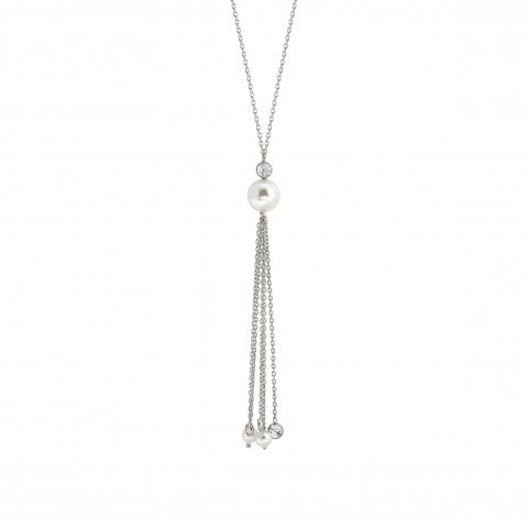 Tassel_Necklace_with_Swarovski_Pearls_Long_necklace_in_sterling_silver,_Cubic_Zirconia_and_pearls