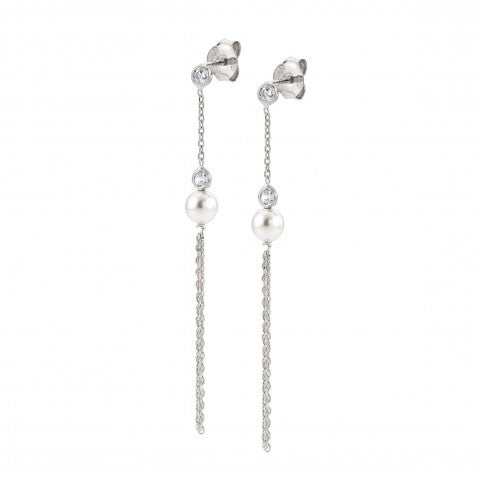 Tassel_Earrings_in_silver_and_Swarovski_Pearls_Long_silver_earrings_with_Cubic_Zirconia_and_pearls