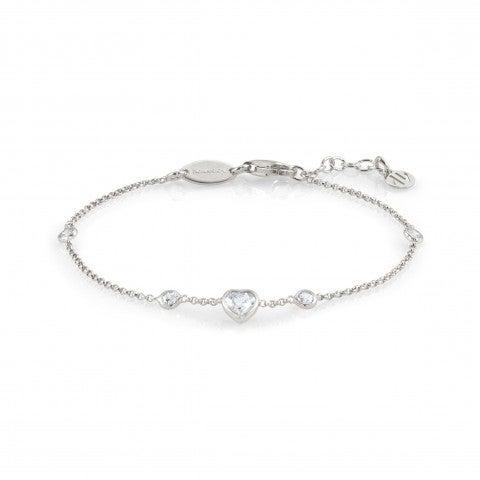 Silver_Bracelet_with_Cubic_Zirconia_Heart_Sterling_silver_bracelet_with_Heart_charm