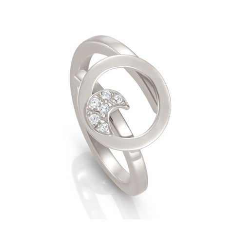 Milù_Ring_with_Moon_Ring_in_sterling_silver_with_Moon_and_Cubic_Zirconia