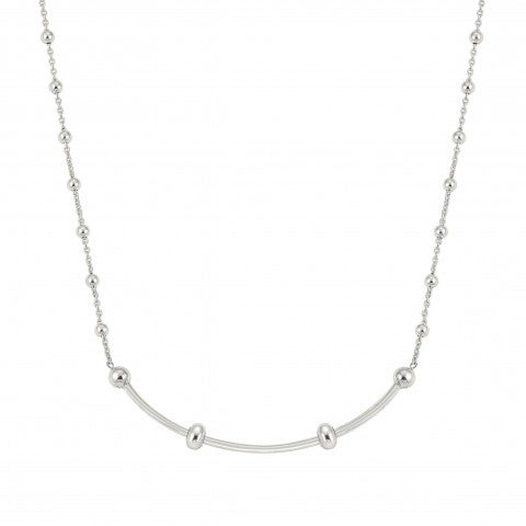 SeiMia_Necklace_in_Sterling_Silver_and_Stone_Necklace_with_fastening_with_Cubic_Zirconia