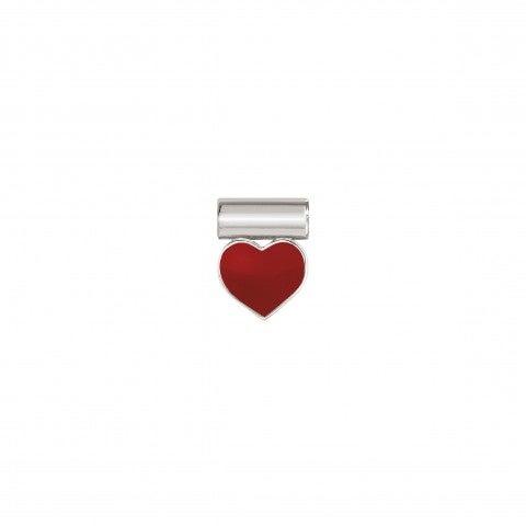 Ciondolo_SeiMia_con_Cuore_Rosso_Pendente_in_Argento_925_con_Simbolo_d'amore