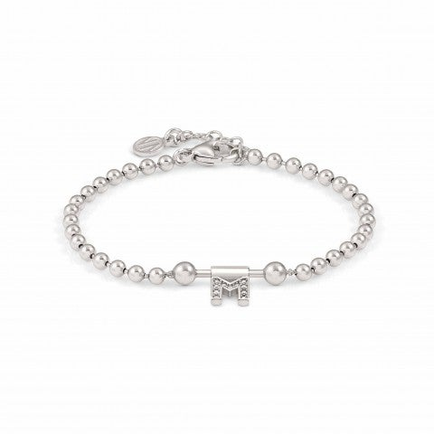 SeiMia_Bracelet_with_Letter_M_Jewellery_in_sterling_silver_with_Letter_with_Zirconia