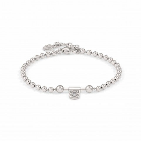 SeiMia_Bracelet_with_Letter_U_with_Stone_Jewellery_with_Letter_in_silver_and_white_Zirconia