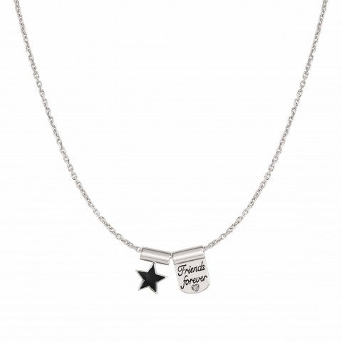 SeiMia_Necklace_with_Friends_Forever_and_Star_Necklace_with_writing_and_symbol_pendant