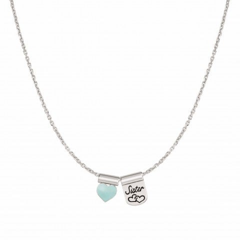 SeiMia_Necklace_with_Sister_and_Heart_Necklace_with_pendants_in_sterling_silver