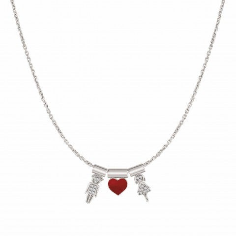 SeiMia_Necklace_with_Him,_Her,_and_Heart_Necklace_with_symbol_pendants_in_sterling_silver