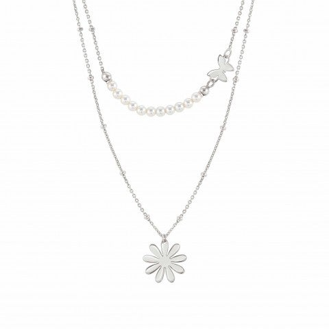 Melodie_necklace_Flower_and_pearls_Jewellery_with_silver_symbols