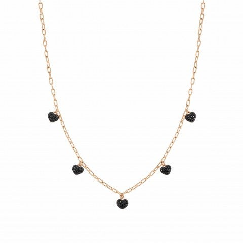 Easychic_Hearts_necklace_22K_rose_gold_finish_Necklace_with_coloured_Cubic_Zirconia_hearts