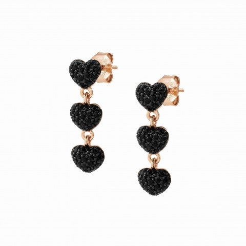 Easychic_Hearts_earrings_22K_rose_gold_finish_Earrings_with_coloured_Cubic_Zirconia