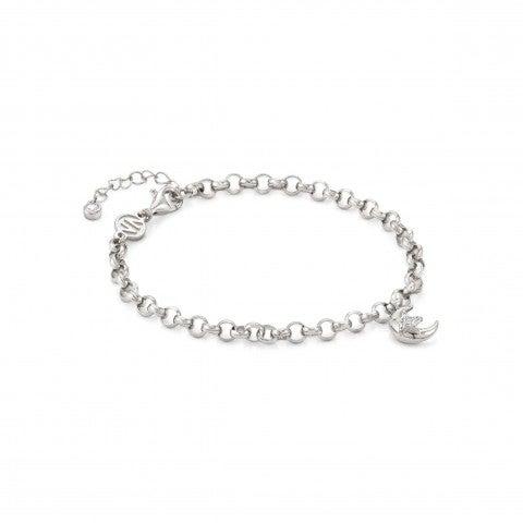 SweetRock_bracelet_with_Moon_Sterling_silver_bracelet