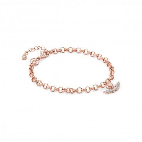 SweetRock_bracelet_with_Heart_Bracelet_in_sterling_silver