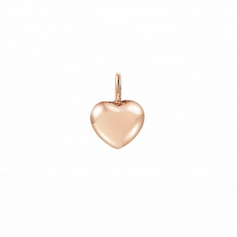 22K_rose_gold_Heart_charm_Charming_charm_with_bombé_symbol