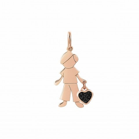 Boy_Charm_with_Heart,_22K_rose_gold_plated_Charming_Him_charm_with_heart_and_Cubic_Zirconia