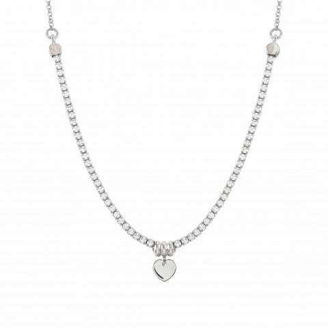Chic&Charm_necklace_with_Heart_Necklace_in_sterling_silver