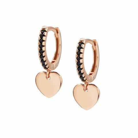 Chic&Charm_earrings_with_Heart_Earrings_in_sterling_silver