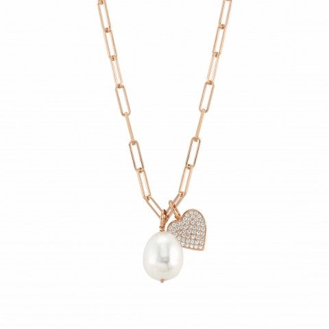 White_Dream_necklace_with_Heart_Necklace_in_sterling_silver_with_pearl