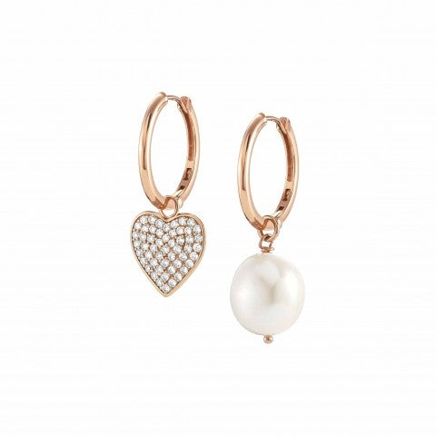 White_Dream_Earrings_with_Heart_Silver_earrings_with_pearl