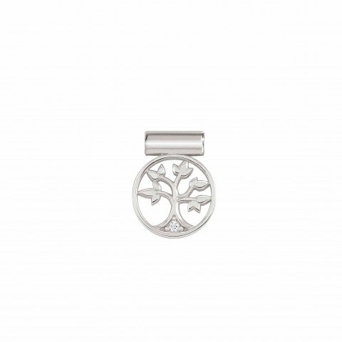 SeiMia_Charm,_Tree_of_Life_Silver_pendant_with_Cubic_Zirconia