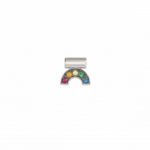 SeiMia_Charm,_Rainbow_with_Cubic_Zirconia_Silver_pendant_with_coloured_Cubic_Zirconia