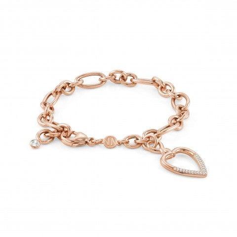 Endless_bracelet_with_Heart_Sterling_silver_bracelet