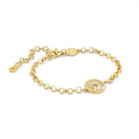 Sentimental_bracelet,_Infinity_Sterling_silver_bracelet_with_stones