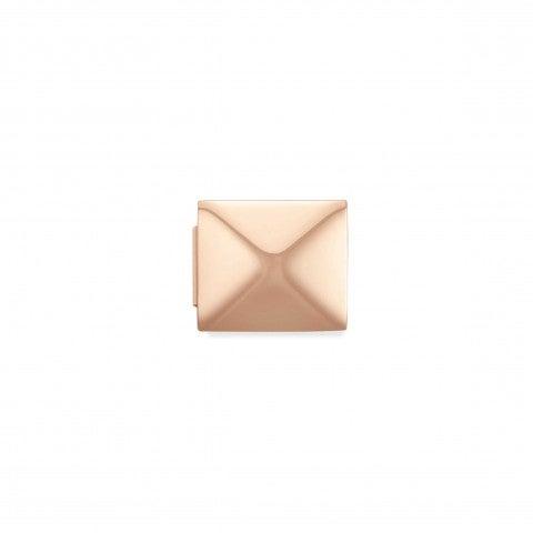 Link_Composable_GLAM_Piramide_in_pvd_rosa_Link_con_simbolo_in_rilievo